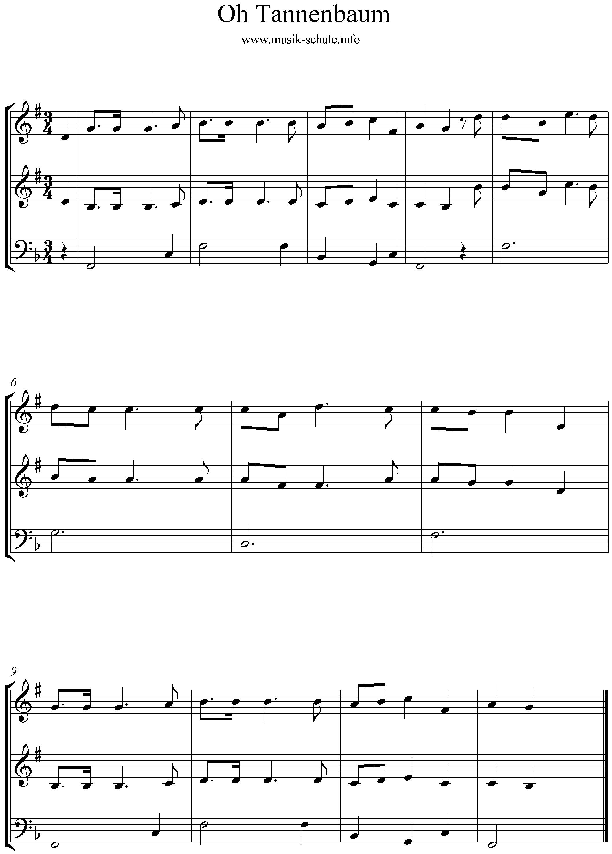 Weihnachtslieder Oh Tannenbaum.Oh Tannenbaum Brass Trio