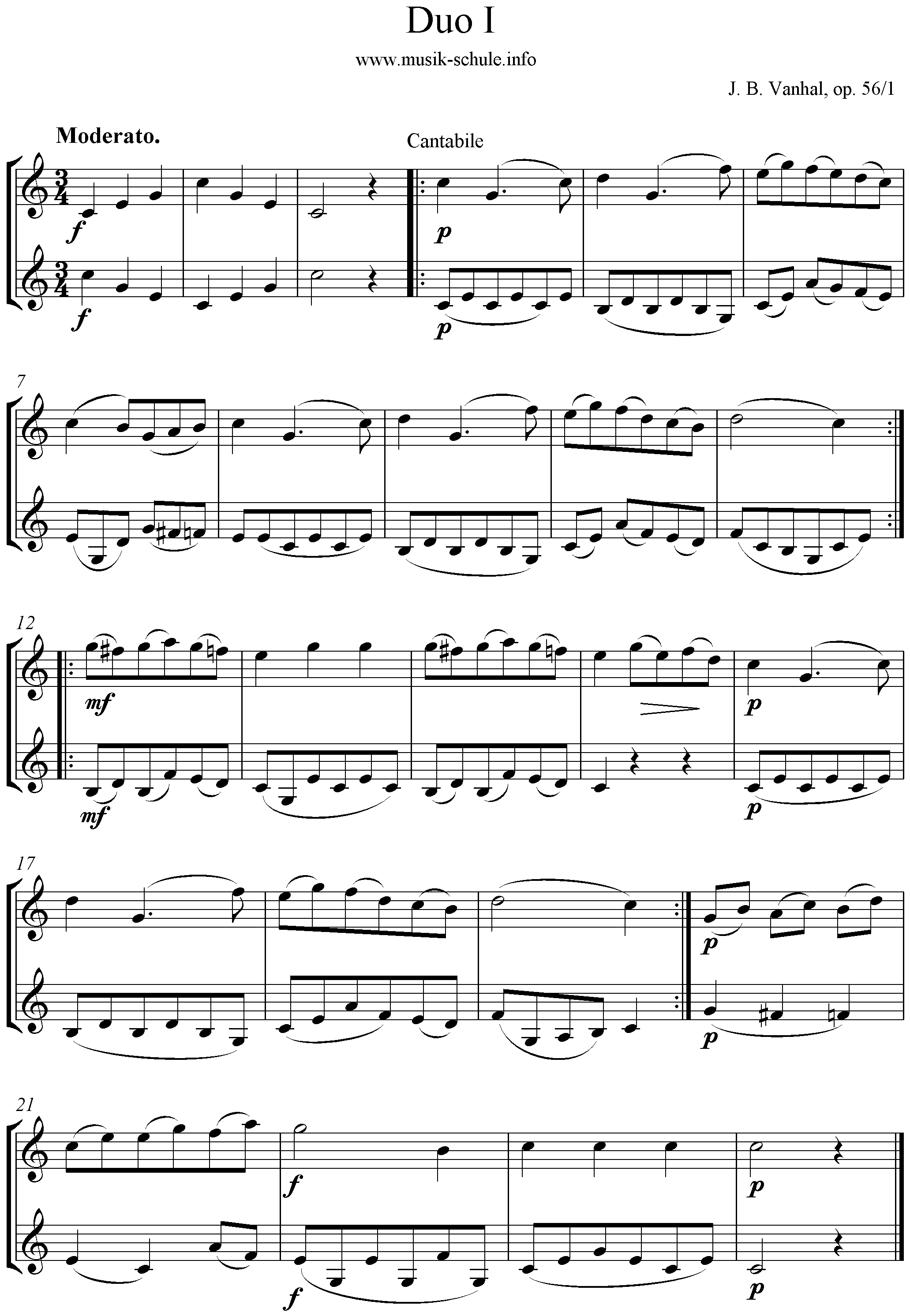 Klarinetten Duo